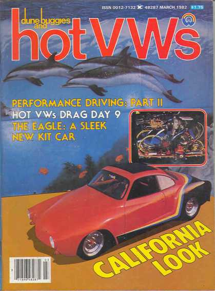 Dune Buggies and Hot VWs - March 1982