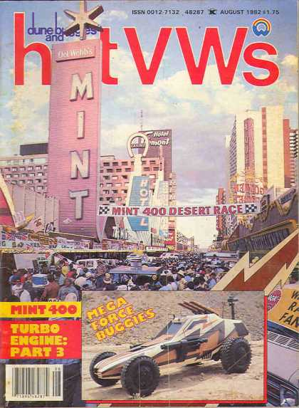 Dune Buggies and Hot VWs - August 1982