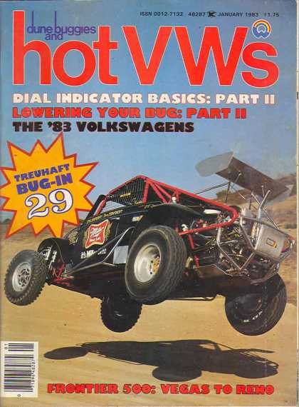 Dune Buggies and Hot VWs - January 1983