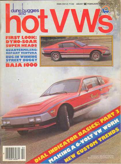 Dune Buggies and Hot VWs - February 1983
