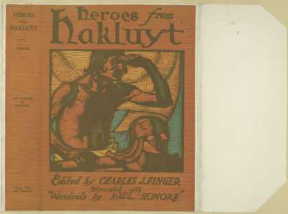 Dust Jackets - Heroes from Hakluyt.