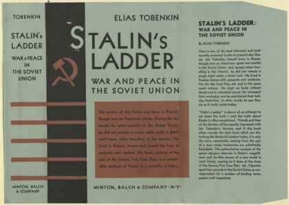 Dust Jackets - Stalin's ladder war & pe