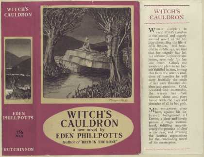 Dust Jackets - Witch's cauldron.