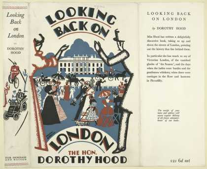Dust Jackets - Looking back on London.