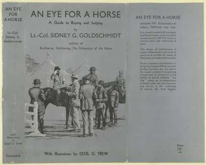 Dust Jackets - An eye for a horse : a gu