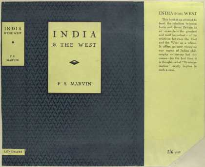 Dust Jackets - India and the West.