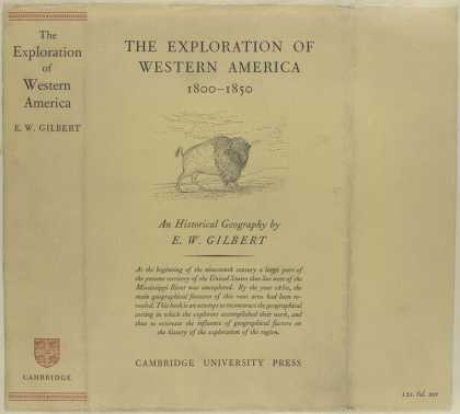 Dust Jackets - The exploration of wester