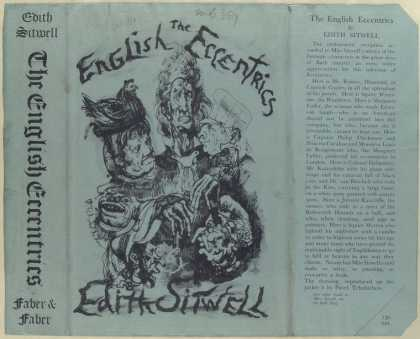 Dust Jackets - The English eccentrics.