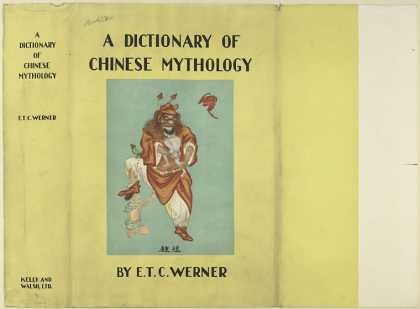 Dust Jackets - A dictionary of Chinese m