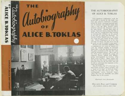 Dust Jackets - The autobiography of Alic