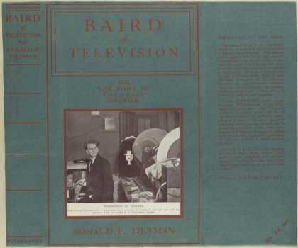 Dust Jackets - Baird of television the
