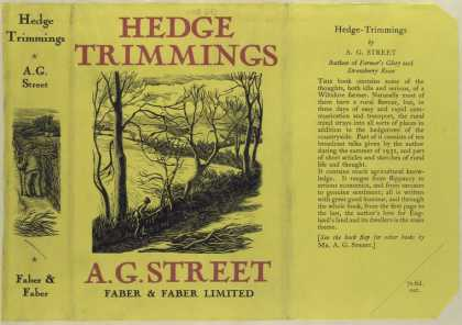 Dust Jackets - Hedge-trimmings.