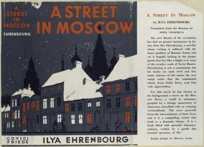 Dust Jackets - A street in Moscow.