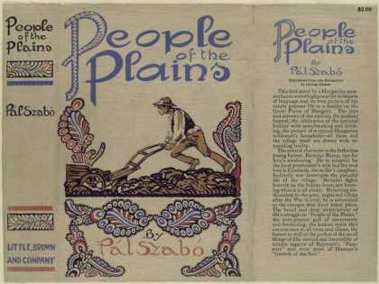 Dust Jackets - People of the plains.
