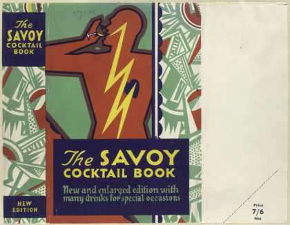Dust Jackets - The Savoy cocktail book