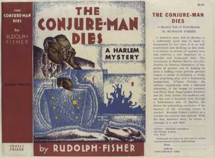 Dust Jackets - The conjure-man dies a H