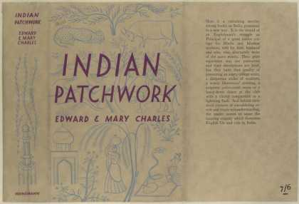 Dust Jackets - Indian patchwork.