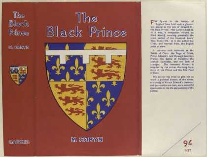 Dust Jackets - The Black Prince.