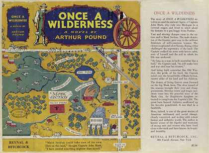 Dust Jackets - Once a wilderness, a nove