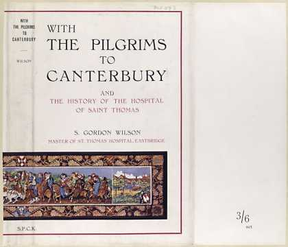 Dust Jackets - With the pilgrims to Cant