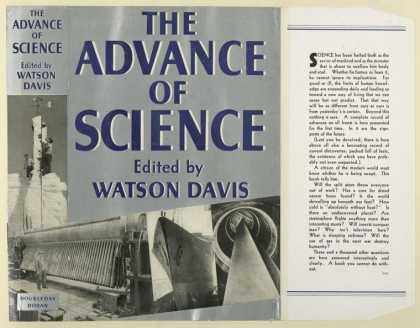 Dust Jackets - The advance of science.