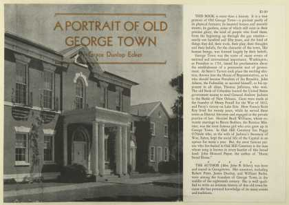 Dust Jackets - A portrait of old George