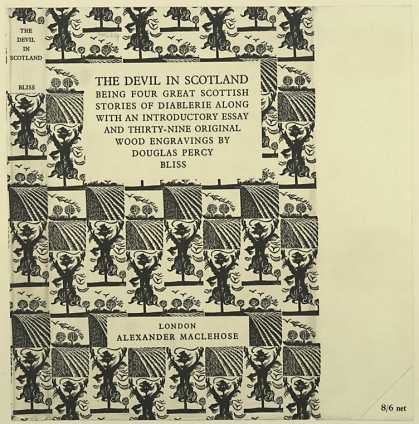 Dust Jackets - The devil in Scotland be