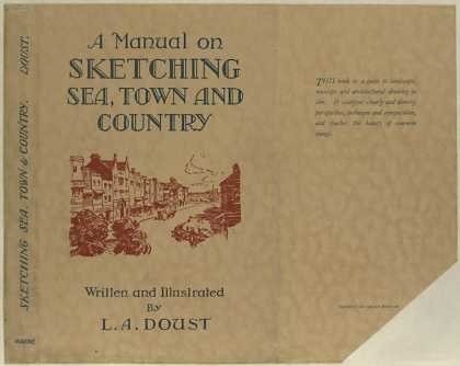Dust Jackets - A manual on sketching sea
