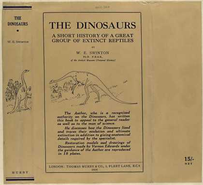 Dust Jackets - The dinosaurs a short hi