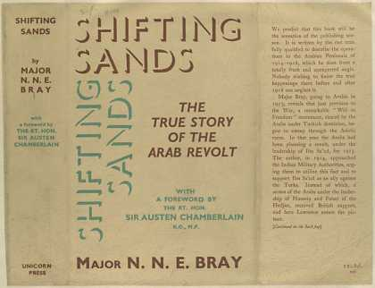 Dust Jackets - Shifting sands.