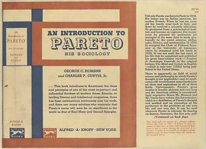 Dust Jackets - An introduction to Pareto