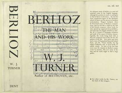 Dust Jackets - Berlioz, the man and his