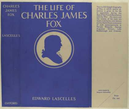 Dust Jackets - The life of Charles James