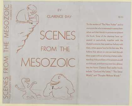 Dust Jackets - Scenes from the Mesozoic