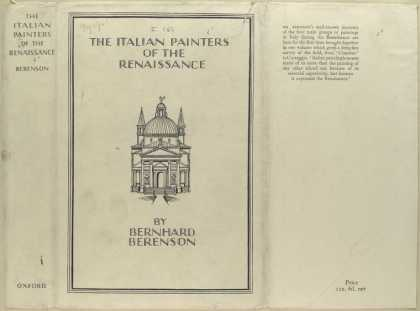 Dust Jackets - The Italian painters of t