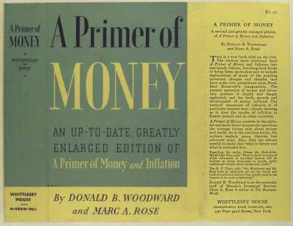 Dust Jackets - A primer of money, by Don