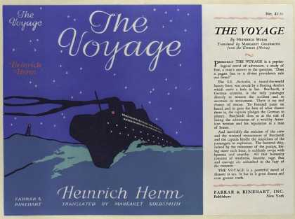 Dust Jackets - The voyage / by Heinrich