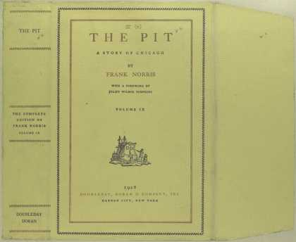 Dust Jackets - The pit a story of Chica