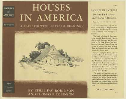 Dust Jackets - Houses in America : illus