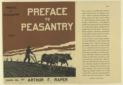 Dust Jackets - Preface to peasantry / by