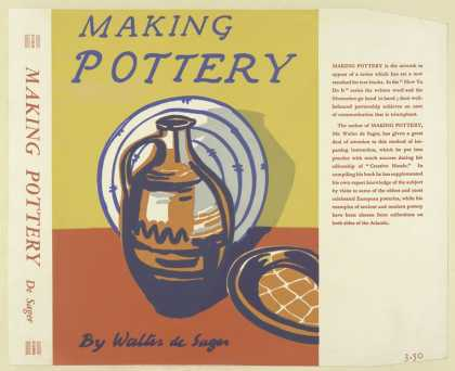 Dust Jackets - Making pottery / by Walte