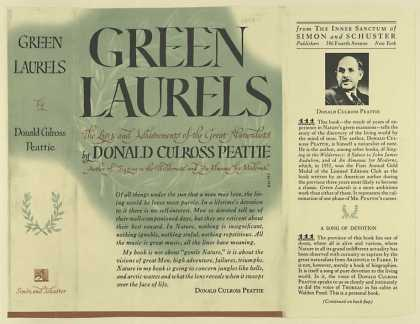 Dust Jackets - Green laurels the lives