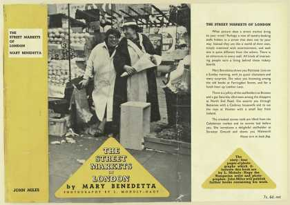 Dust Jackets - The street markets of Lon