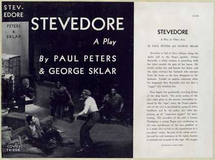 Dust Jackets - Stevedore : a play / by P