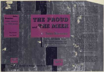 Dust Jackets - The proud and the meek /