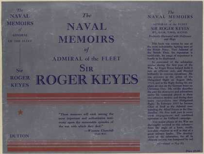 Dust Jackets - The naval memoirs of Admi