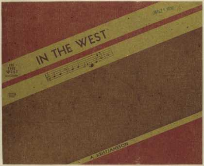 Dust Jackets - In the West / by A. Krist