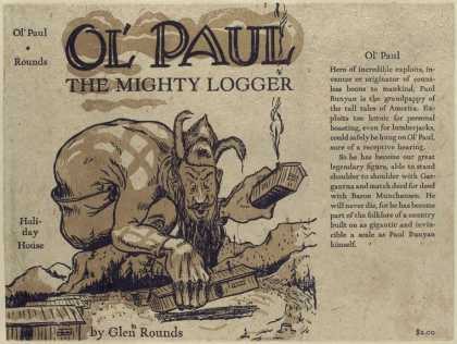 Dust Jackets - Ol' Paul, the mighty logg