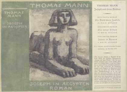 Dust Jackets - Joseph in Aegypten : roma