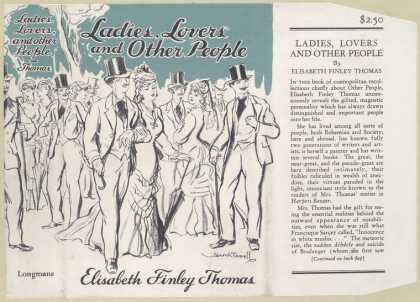 Dust Jackets - Ladies, lovers and other